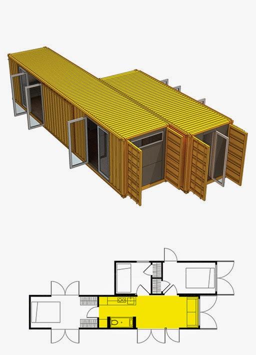 Casas contenedores montainer casas contenedores modulares - Casa de contenedores ...