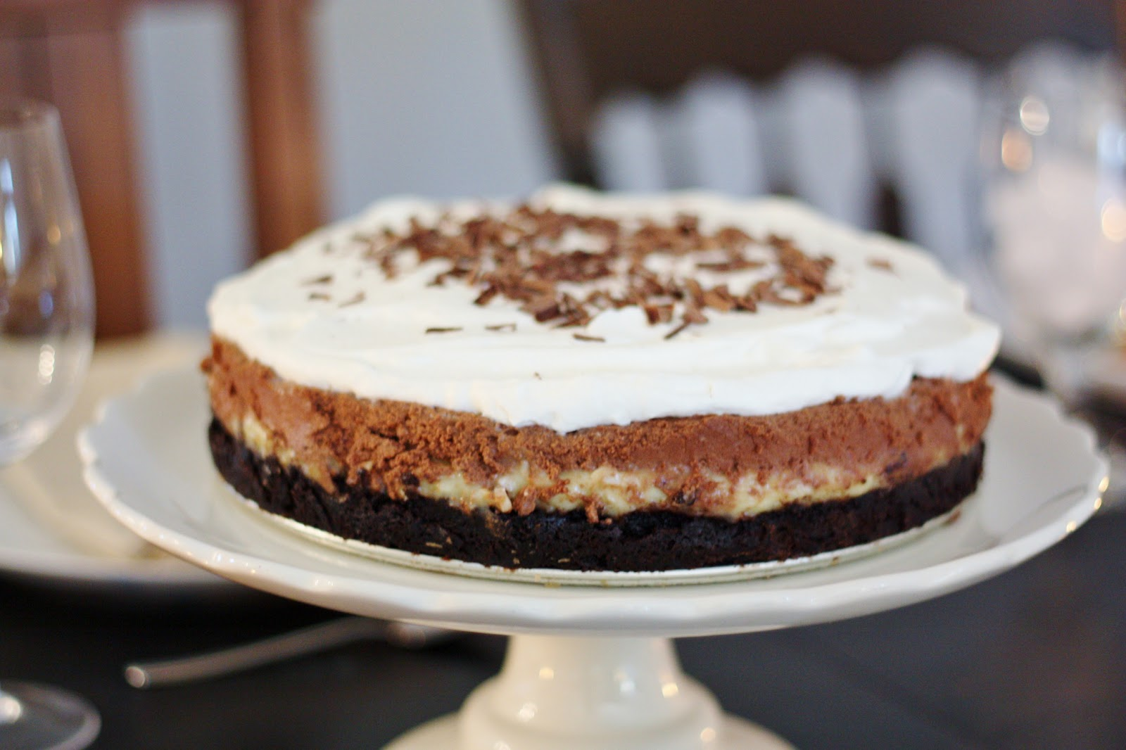 Dulce De Leche Ice Cream Cake Recipe — Dishmaps