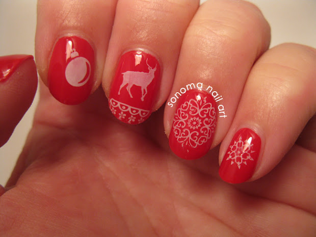 sonoma nail art ugly christmas
