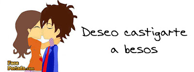 Deseo castigarte a besos