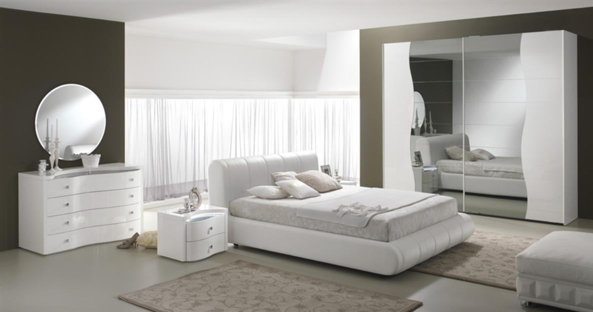 Arredi spatafora spar mobili camera prestige notte for Camere da letto bianche