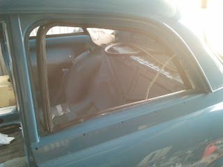 Fitting seal rear side window Volvo 122S