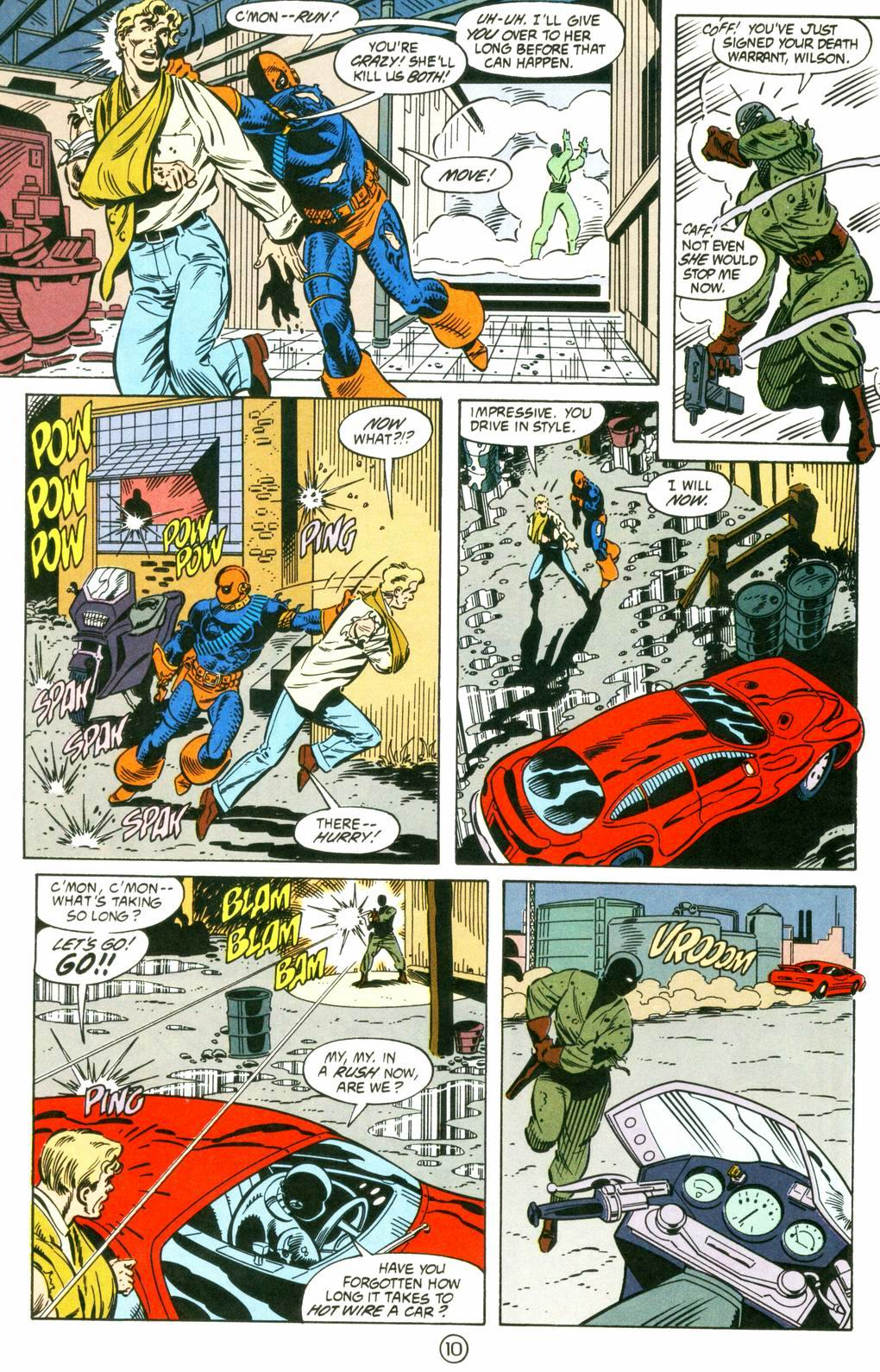 Deathstroke (1991) Issue #8 #13 - English 10