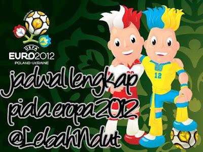 Jadwal Piala Eropa 2012 Euro 2012 Lengkap