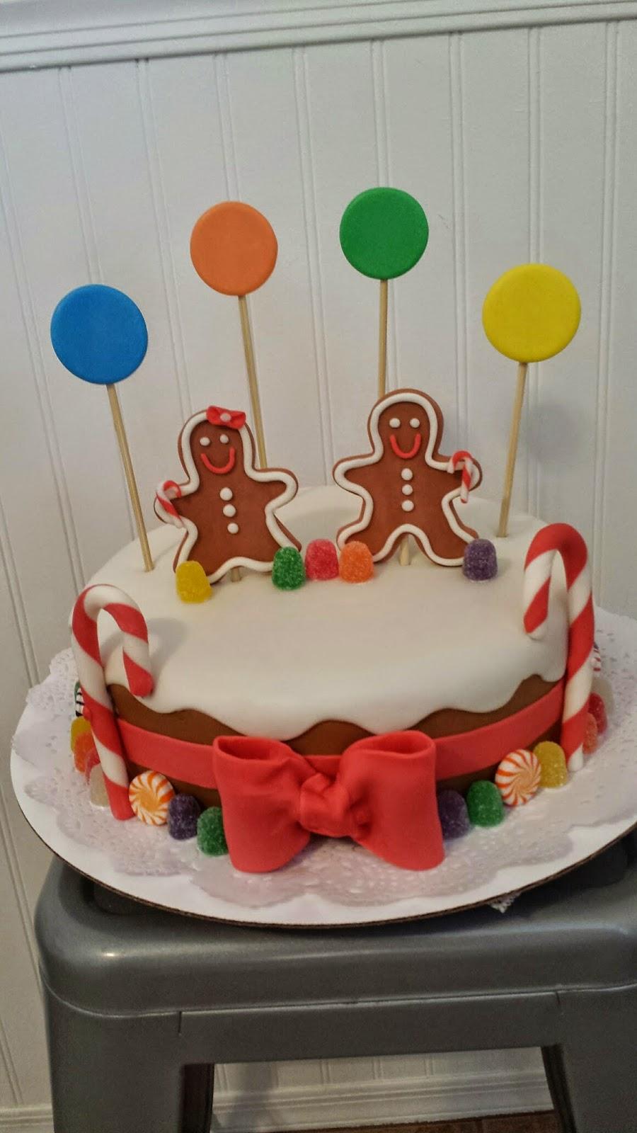 Ollie Lane Gingerbread Man Cake
