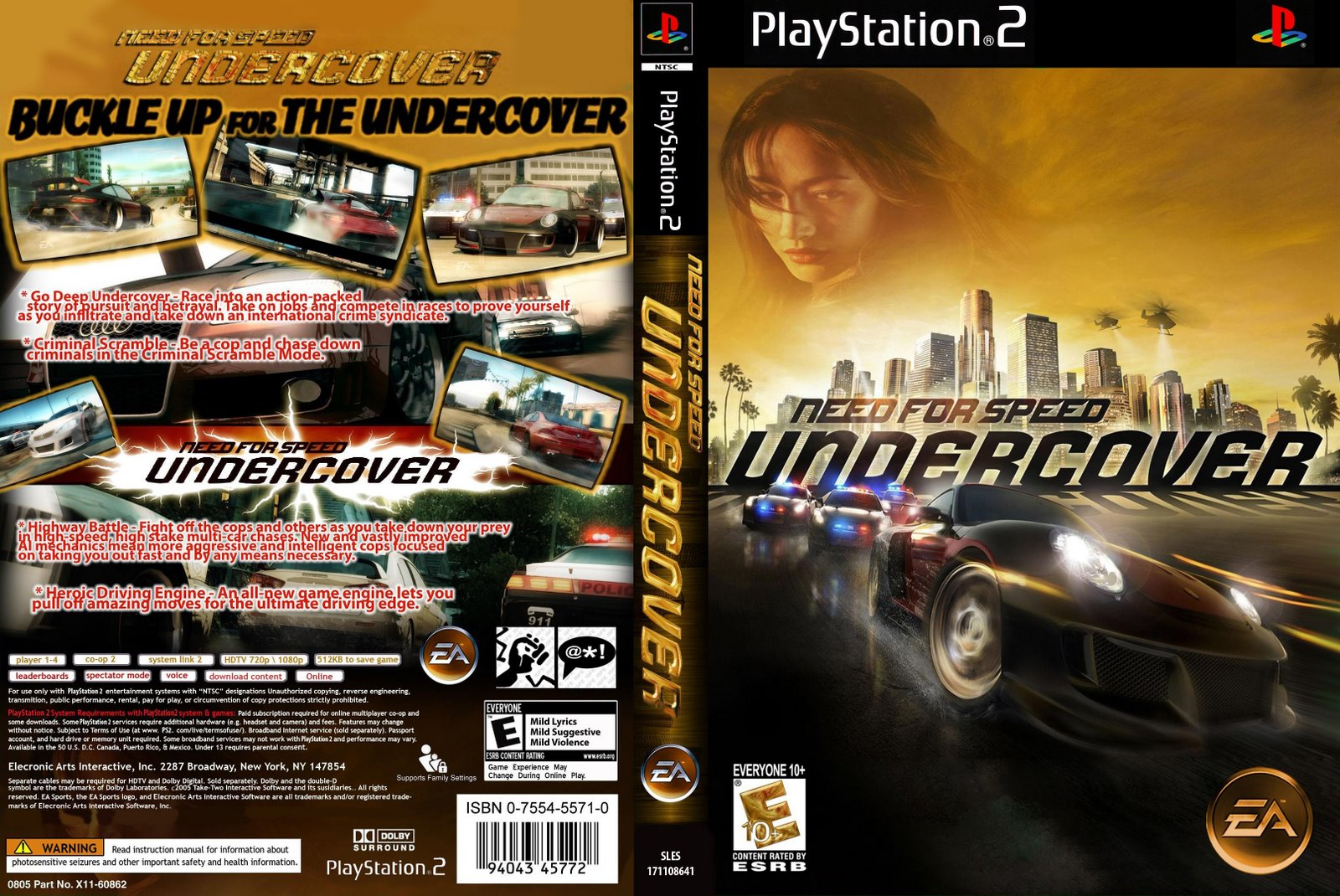 Download Need For Speed Undercover - PS2 - Torrenthix ...