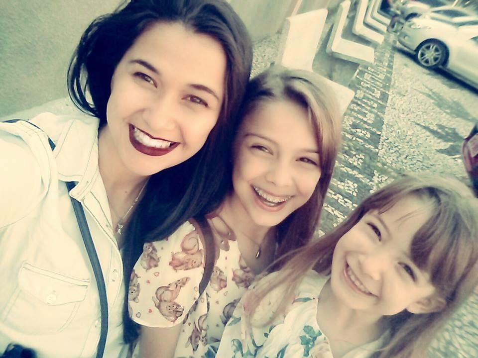 Três meninas lindas!
