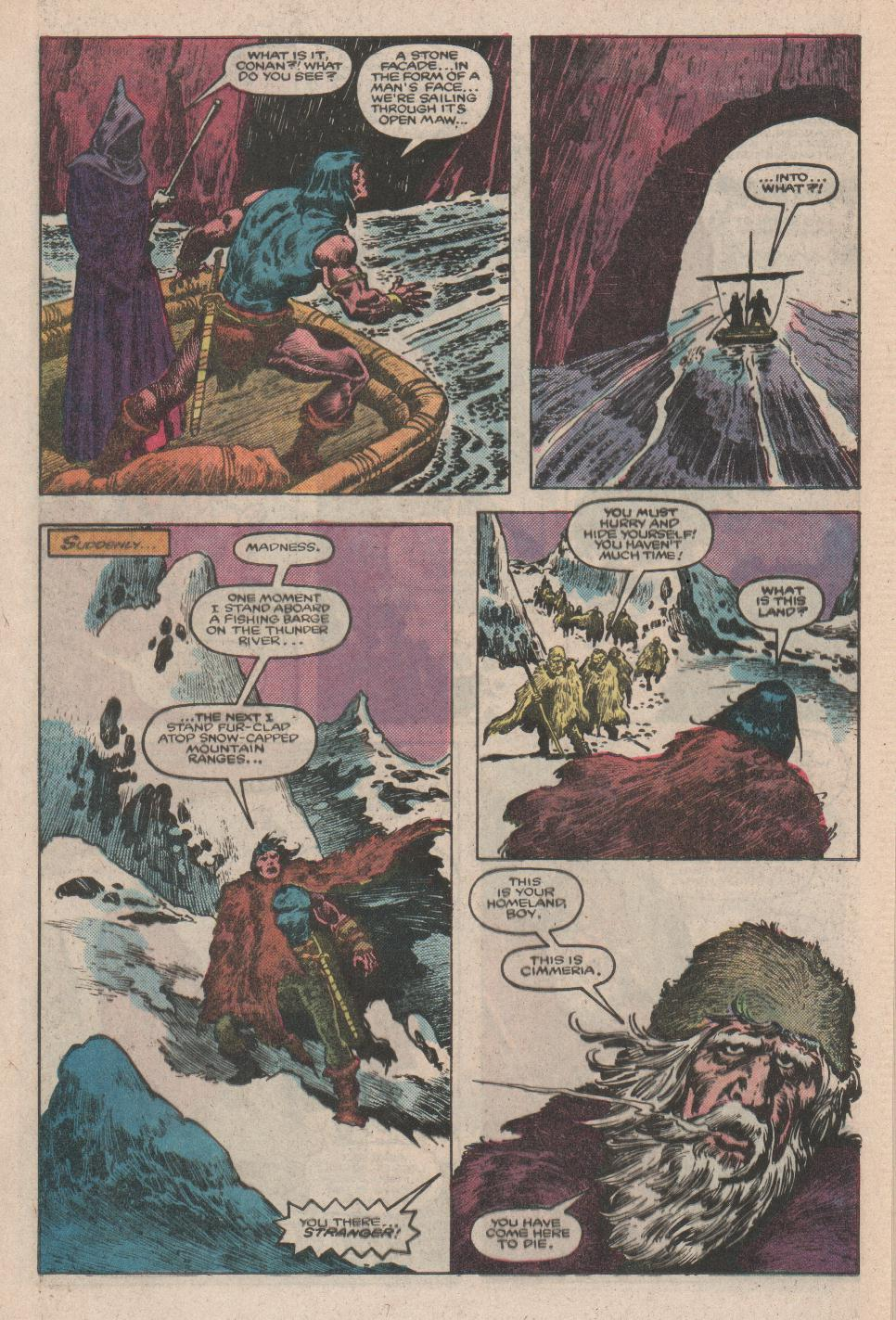 Conan the Barbarian (1970) Issue #175 #187 - English 12