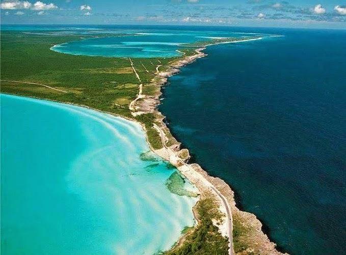 Keindahan Laut Karibia