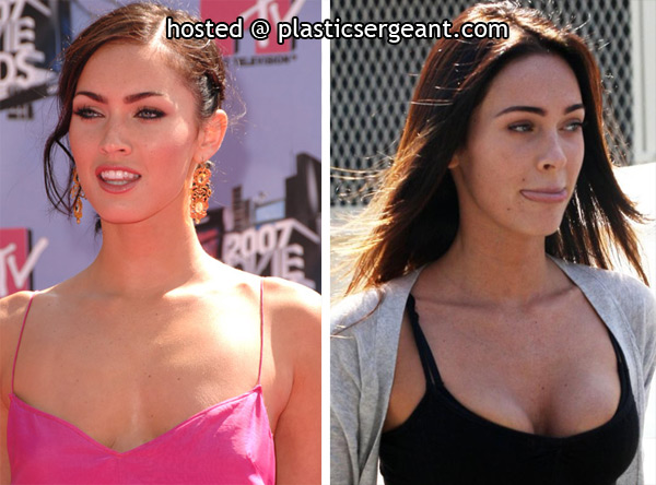 megan fox before famous. megan fox before and after