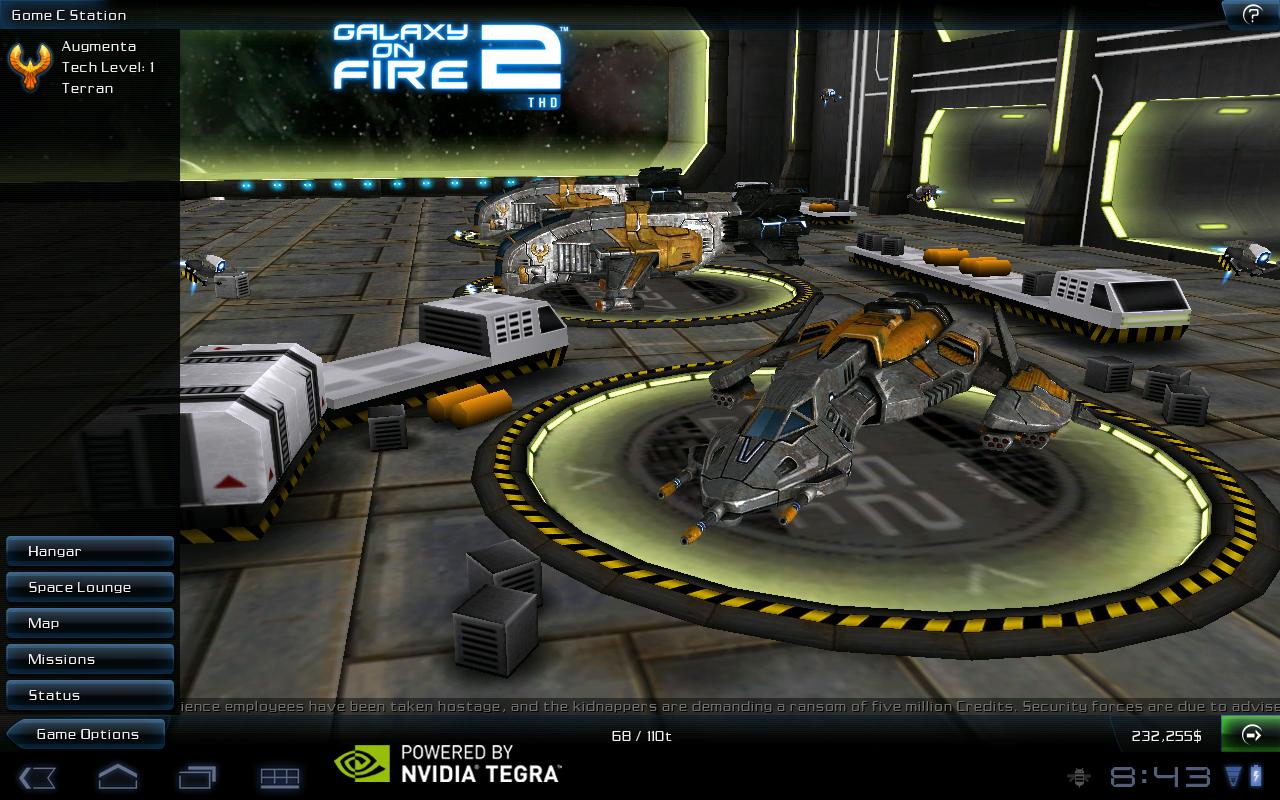 Galaxy on fire 2 java game - screenshots