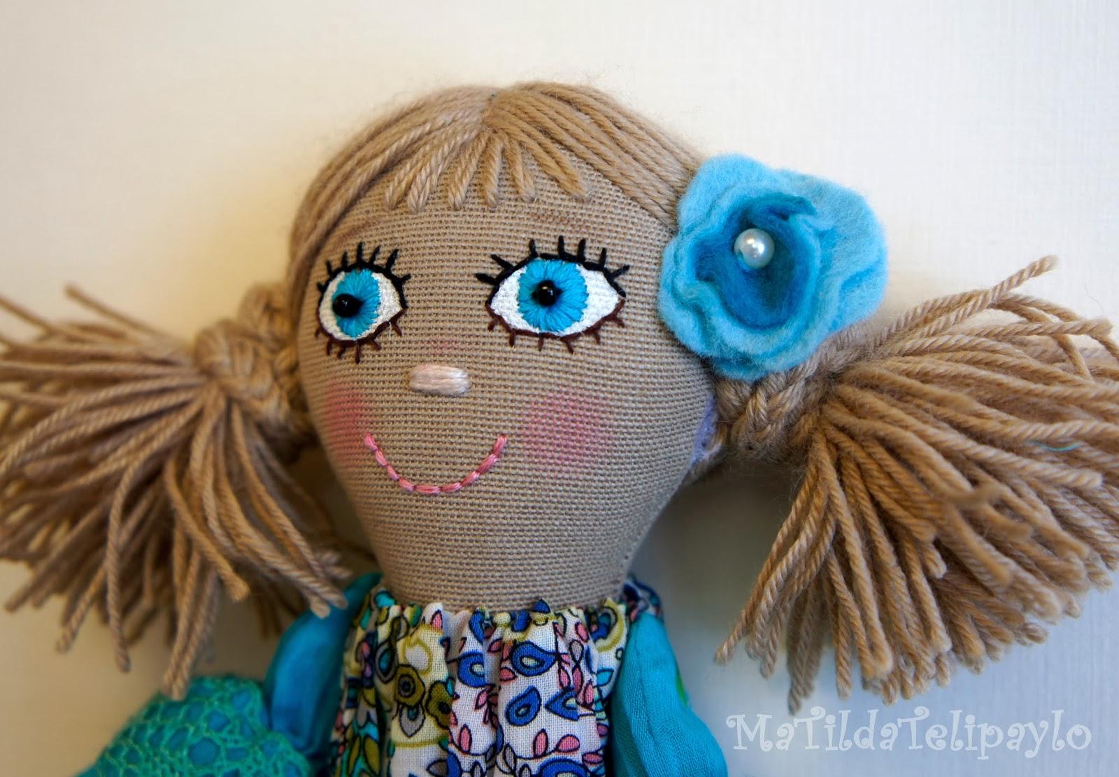 Игровая авторская кукла ручной работы
