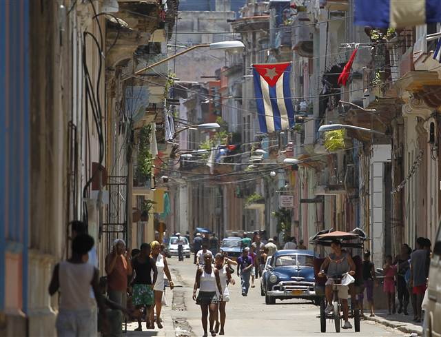 of the Cuban Revolution anniversary in Santiago de Cuba, Cuba ...