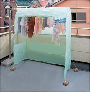 洗濯物 雨 梅雨 干せる カバー