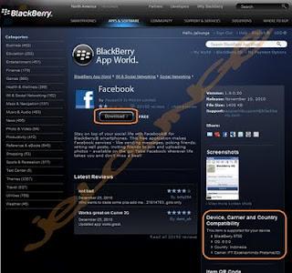 Cara Download Aplikasi Blackberry Melalui Komputer Langsung