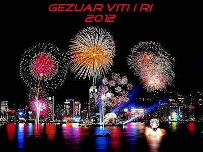 Gezuar vitin e ri - Buon anno !!!