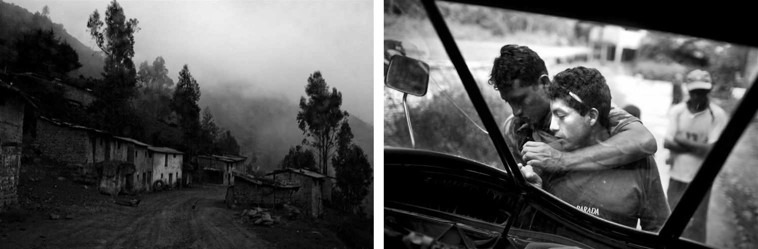 The following images come from the series Rivers of Coca, Peru 2009, ...