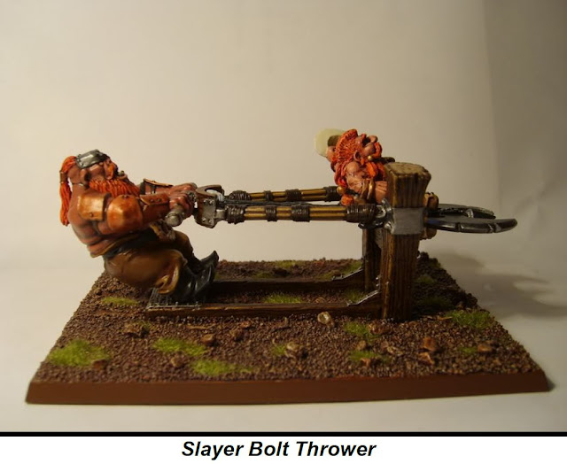 Dwarf Slayer bolt thrower photo