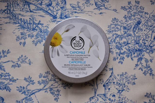 the body shop, the body shop cleansing butter, cleansing butter, body shop cleansing balm, cleansing balm, camomile cleansing butter