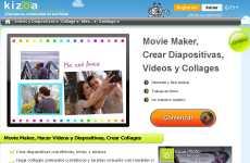 Kizoa: web que permite crear diapositivas, collages de fotos, videos, retocar imágenes, y muchas otras cosas