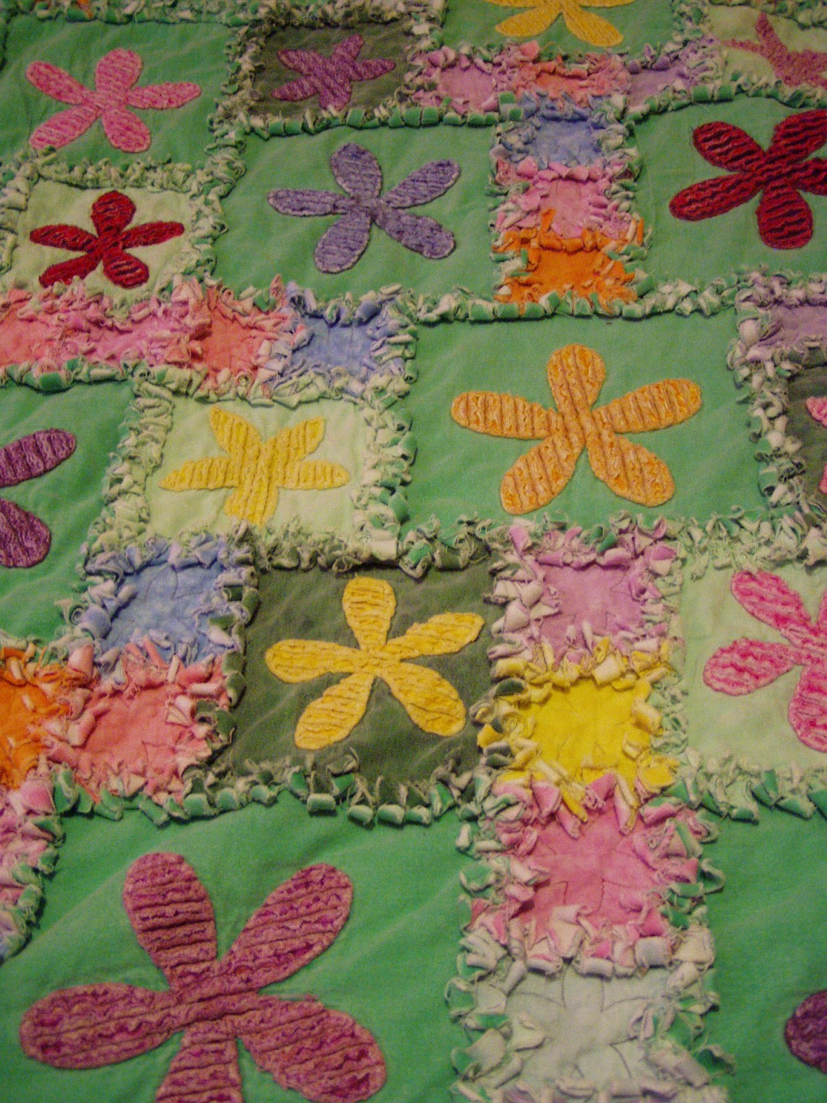 Happy Valley Primitives: Frayed Edge Fun! - A Quilting Tutorial : frayed edge quilt - Adamdwight.com
