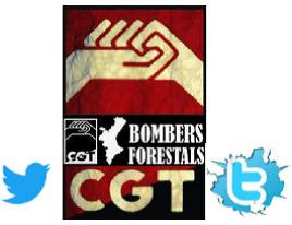 CGT-PV Bombers Forestals al Twitter