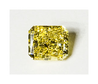 Yellow diamond, fancy diamond, fancy yellow diamond, natural diamond, radiant cut yellow diamond