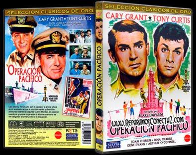 Operación Pacífico [1959] Caratula - Cine clásico