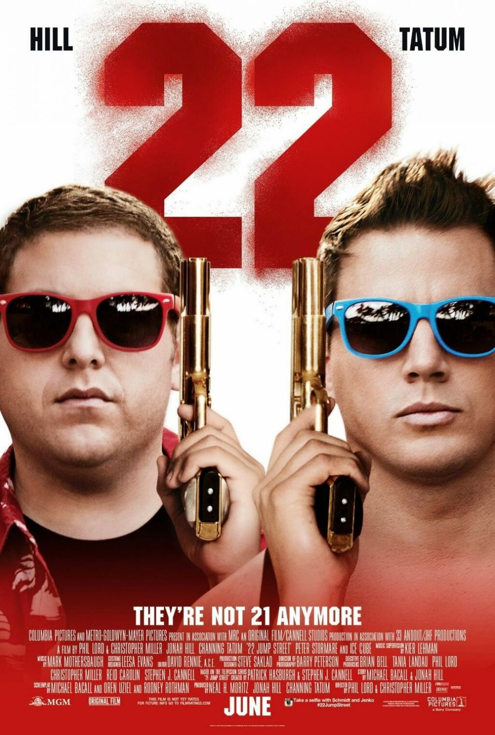 Channing Tatum and Jonah Hill 22 Jump Street