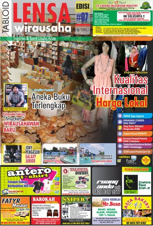 COVER TABLOID