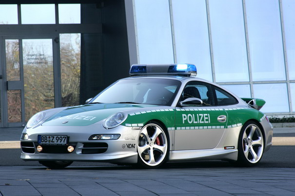 Top Coolest Police Cars - Cool german cars