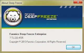how to use deep freeze enterprise