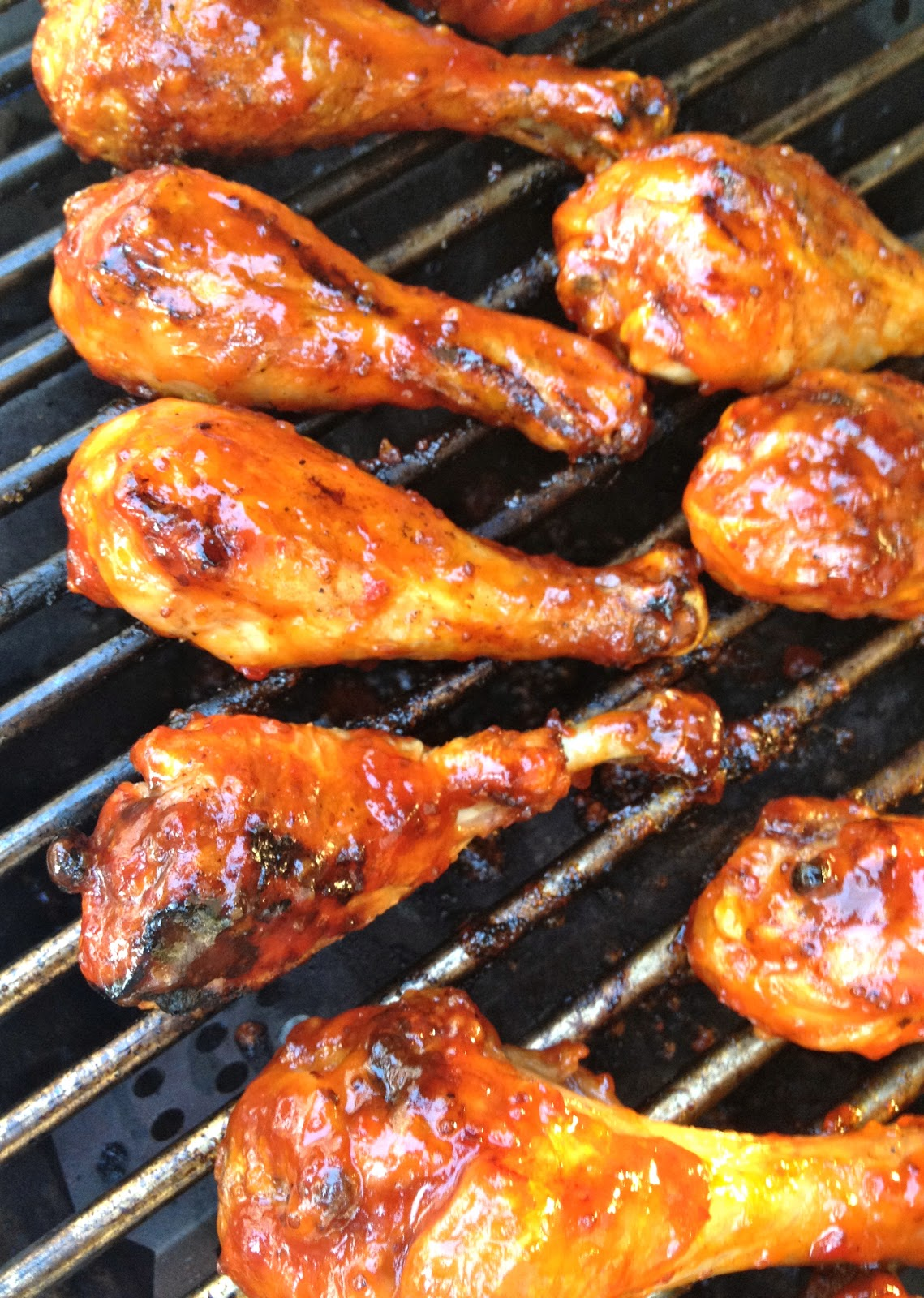 Sweet and spicy grilled chicken legs a southern soul forumfinder Images