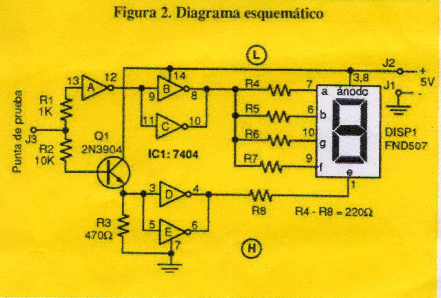 Circuito Logico : Ejercicio circuito combinacional c c
