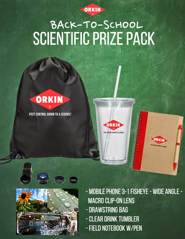 Enter the Orkin Fact or Fake Giveaway. Ends 9/1/14.