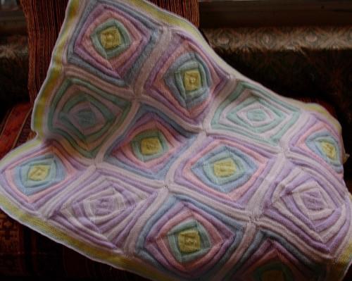 Geometric Baby Afghan - Free Pattern