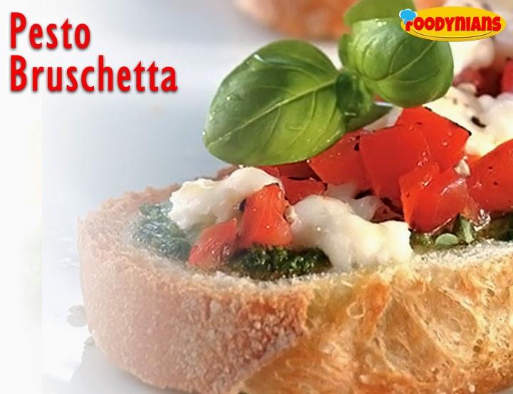 Pesto Bruschetta