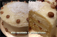 Cake: White Macadamia