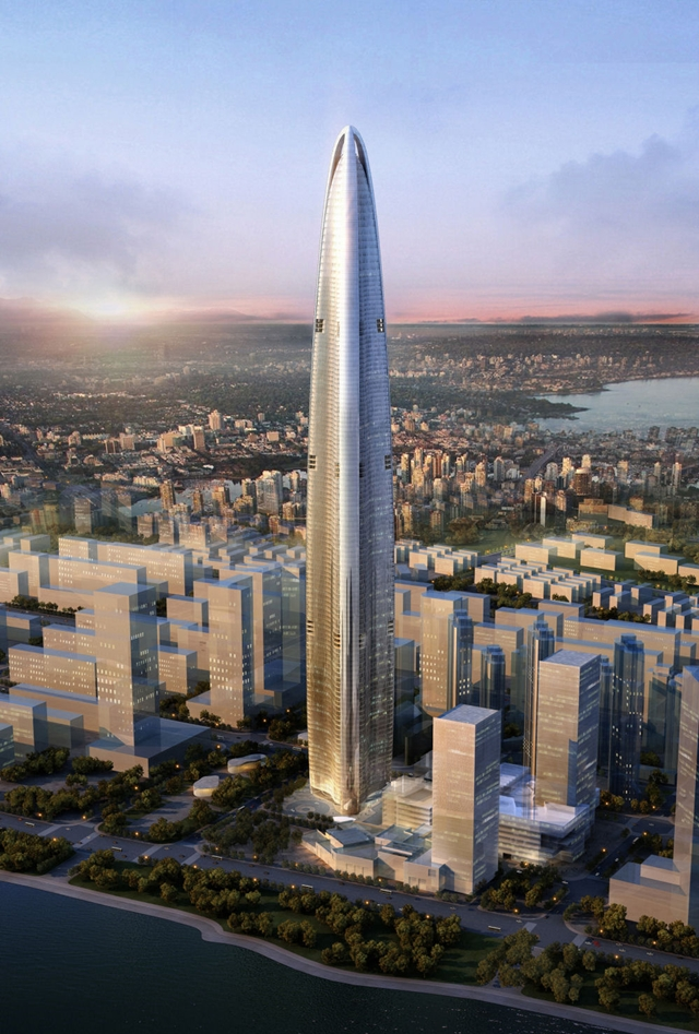 Rendering of the Greenland Center