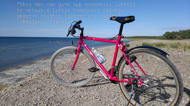 Free Wallpaper 1920x1080 with Benjamin Frankling quote about freedom, Byxelkrok, Öland