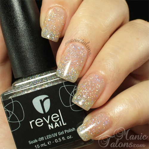Revel Nail Gel Polish Disco Swatch