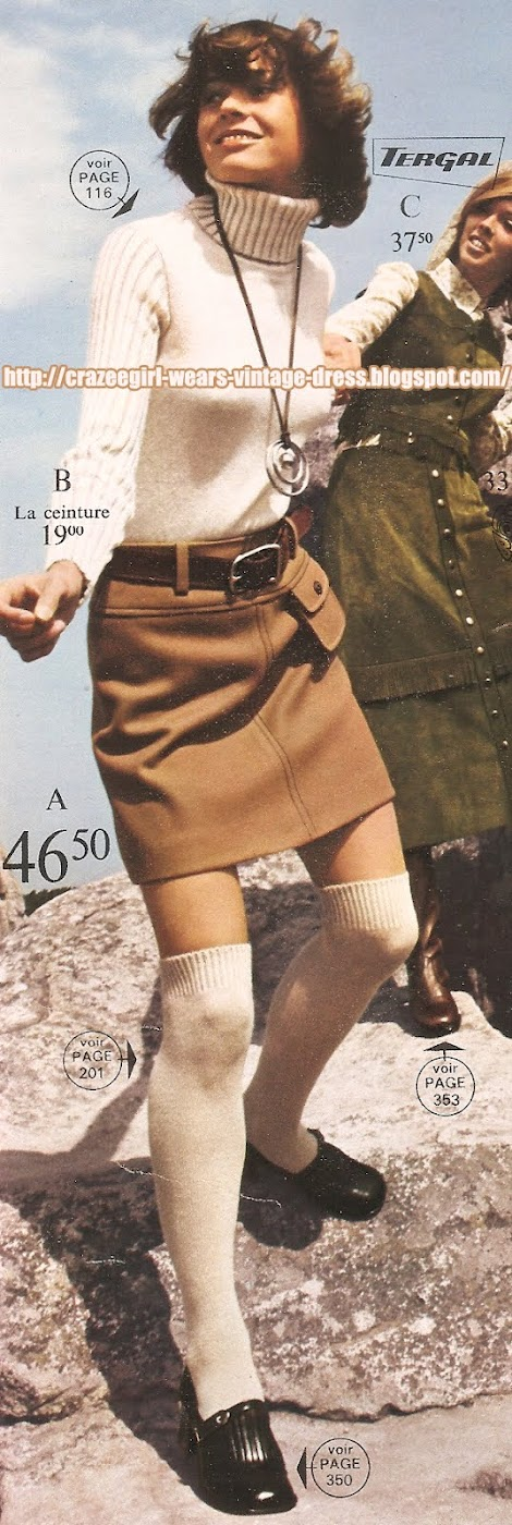 La Redoute mini skirt - 1970 70s