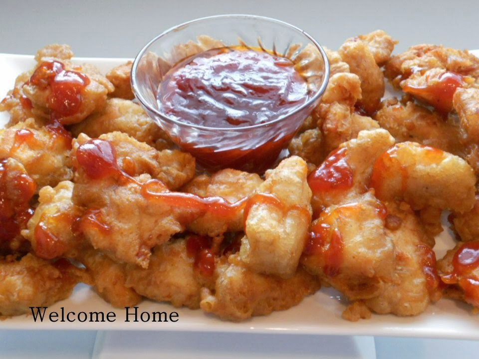 Welcome Home: ♥ CRISPY CHICKEN NUGGETS