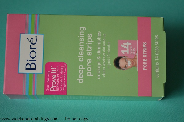 biore deep cleansing pore strips reviews swatches oily skincare blackheads removal remove