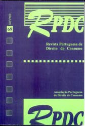 Revista Portuguesa de Direito do Consumo