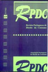Revista Portuguesa de Direito do Consumo