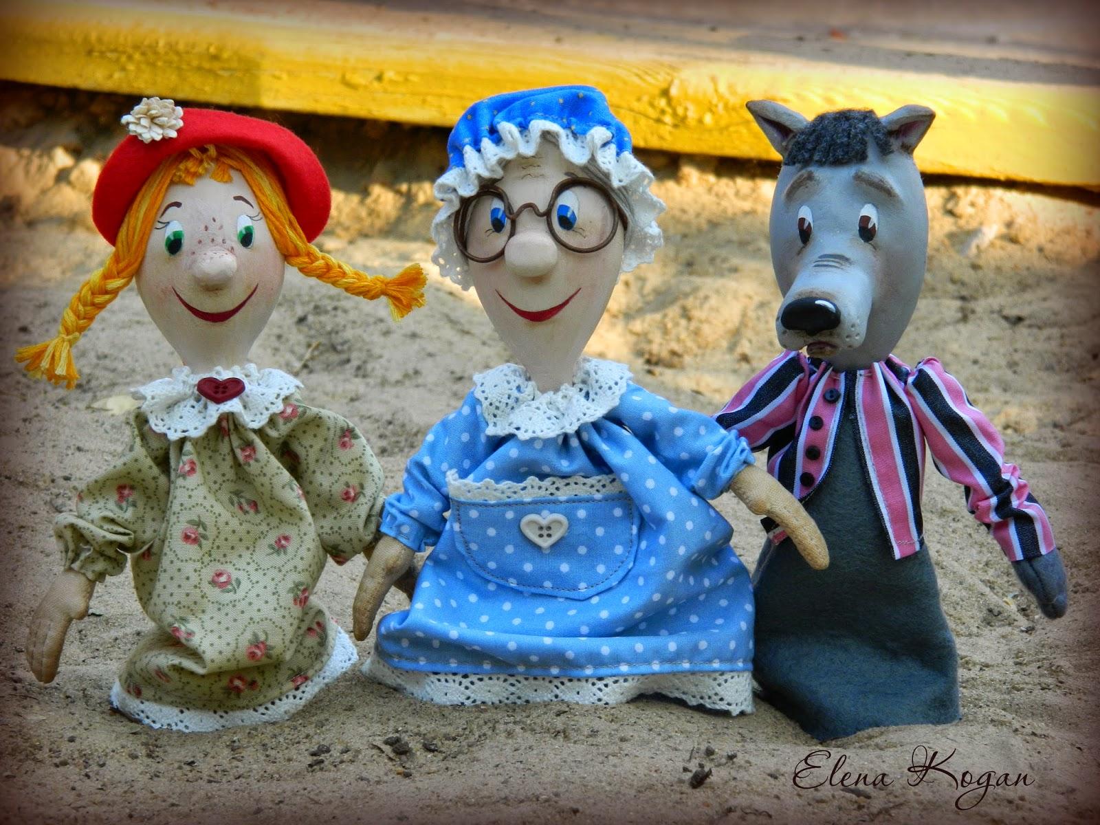 Настольный кукольный театр своими руками: выкройки и описание 59