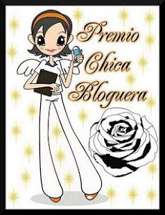 "Segundo Premio ""Chica Bloguera"""