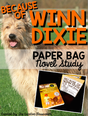 Because of Winn Dixie Paper Bag Novel Study