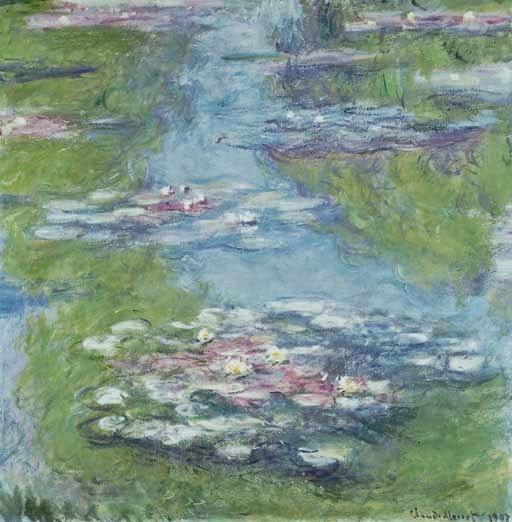 Claude Monet Nymphéas. 1907 Cristie's. 2005